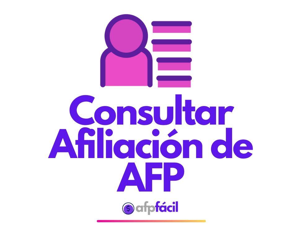 Cómo Saber en Que AFP Estoy | A que AFP Pertenezco
