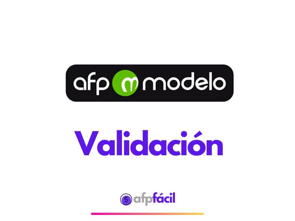 Validar certificado de afp modelo