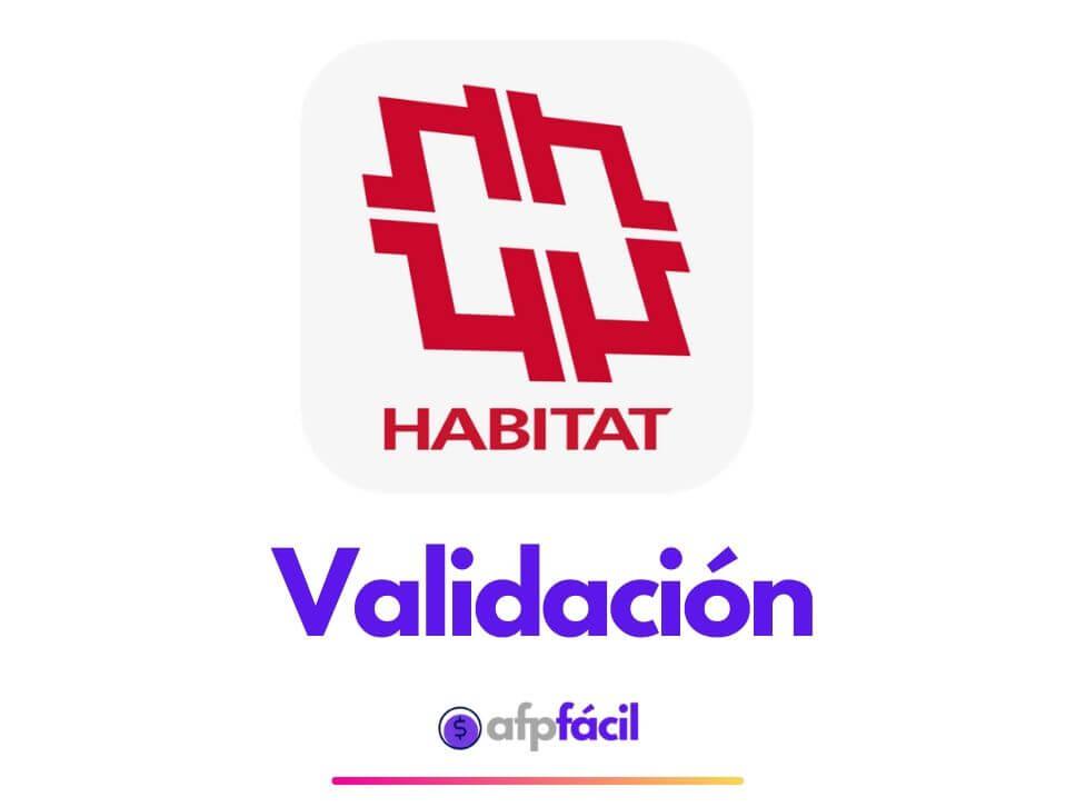 Validar Certificado AFP Habitat